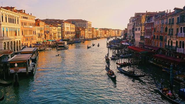 התעלה הגדולה בונציה pixabay