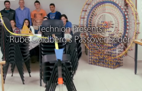 המכונה המדהימה הזו שבנו תלמידים בטכניון מעבירה בדקה את כל סיפור יציאת מצריים!