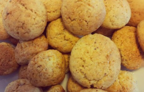 עוגיות חמאה מאגוזי לוז