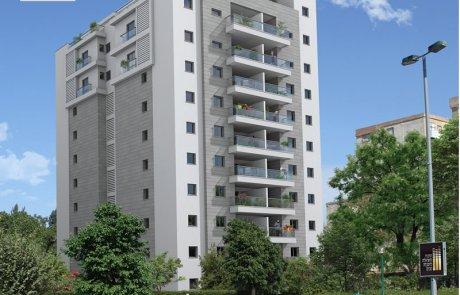 לגור בצפון תל אביב מול פארק הירקון פרויקט קיציס 2 – הדר יוסף